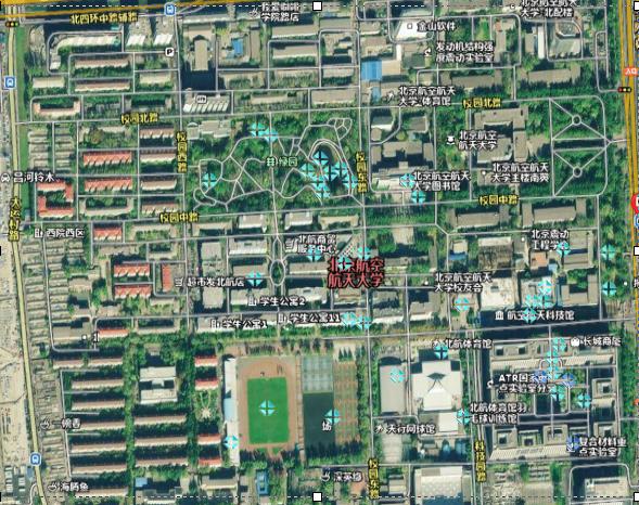 北京航空航天大学学校方位图
